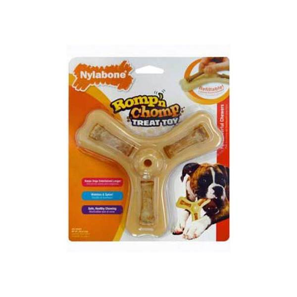 Tfh/Nylabone Romp 'N Chomp Triple Treat Toy