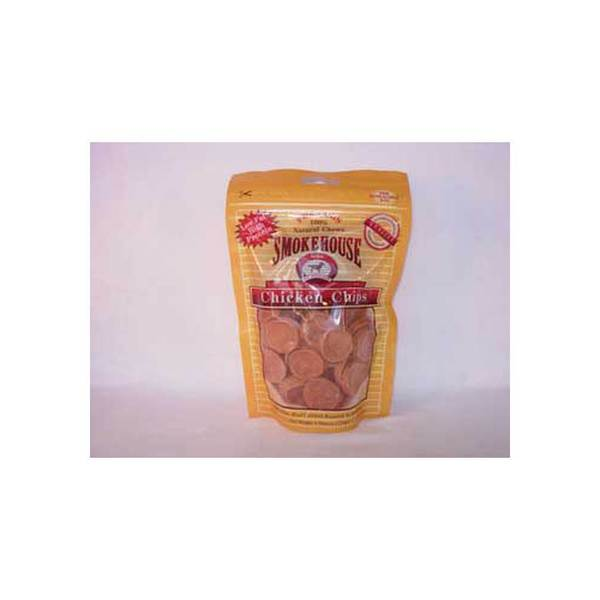 Smokehouse Pet Products Chicken Chips Small 4Oz Bag