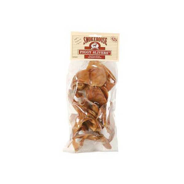 Smokehouse Pet Products Piggy Slivers 10Pk