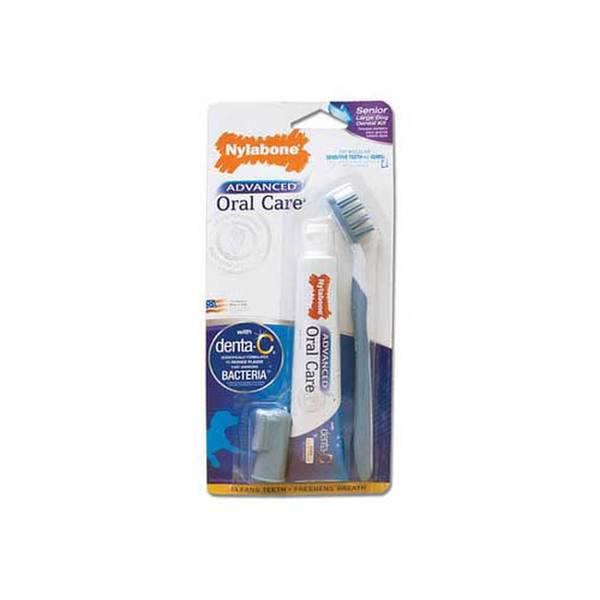 Tfh/Nylabone Advanced Oral Care Dental Kit Senior Lg
