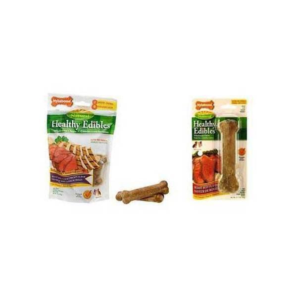 Tfh/Nylabone Healthy Edibles Roast Beef Bone Reg 1Pk
