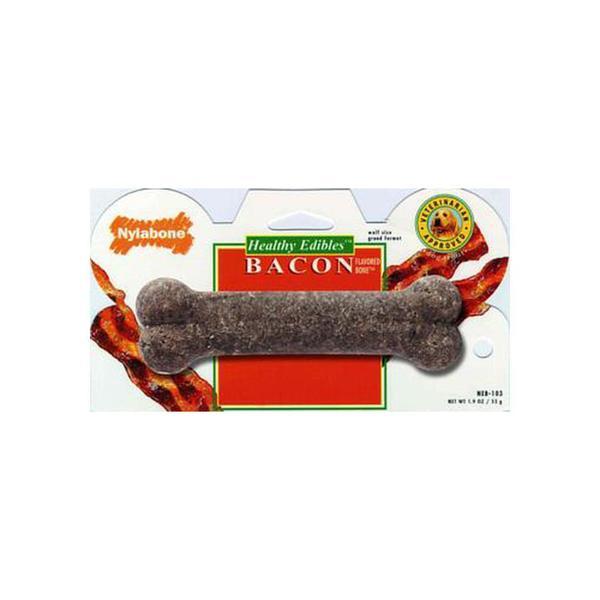 Tfh/Nylabone Healthy Edbiles Bacon Bone Wolf 1Pk