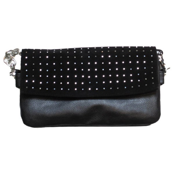 Olivia Miller Heat Sealed Clutch/Crossbody Reversible