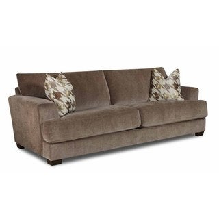 Made to Order Bauhaus Coble Deluxe Taupe Extra Long Sofa