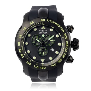 Invicta Men's 'Pro Diver' 17812 Silicone Chronograph Watch
