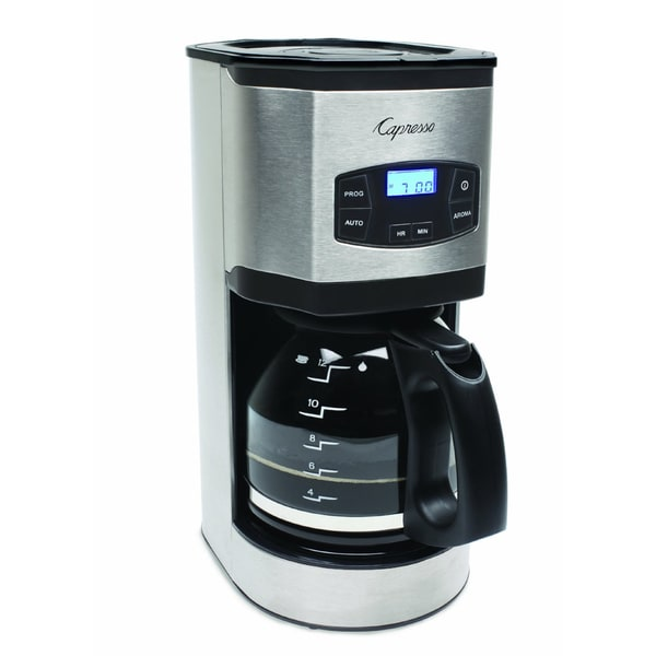 Capresso SG120 12-Cup Stainless Steel Coffee Maker 14686063
