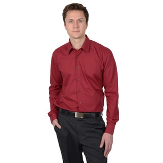 Vance Co. Men's Basic Slim Fit Dress Shirt