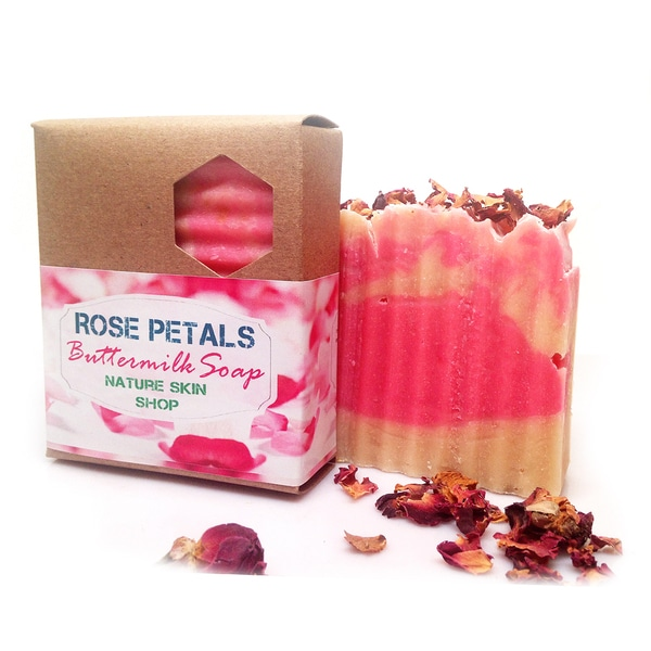 Butter Milk Shea Butter Rose Blend Soap
