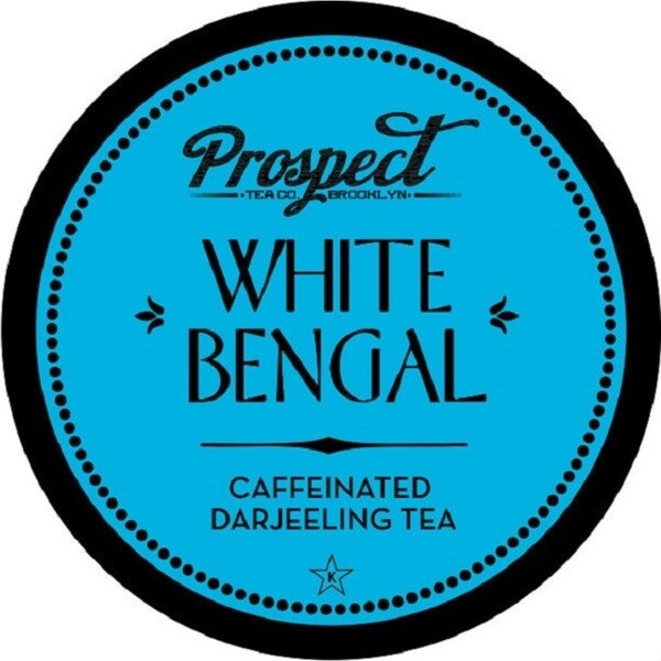 Prospect Tea White Bengal Single Serve Tea K-cups