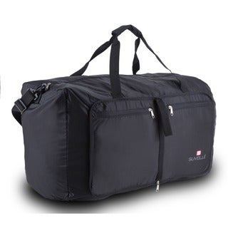 Suvelle Large 29-inch Water-resistant Nylon Foldable Duffel Bag