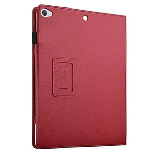 INSTEN Premium Folio Flip Book-Style Leather Tablet Case Cover With Stand For Apple iPad Air 2