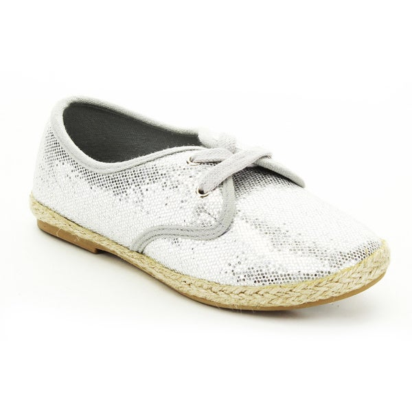 Jelly Beans Hema Kid's Big Girls Slip On Sequin Vamp Loafers