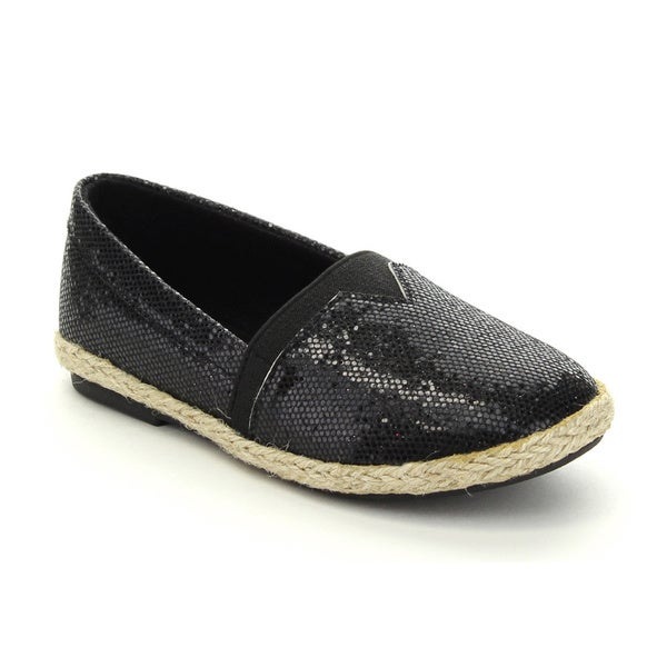 Jelly Beans Fabi Kid's Big Girls Slip On Sequin Vamp