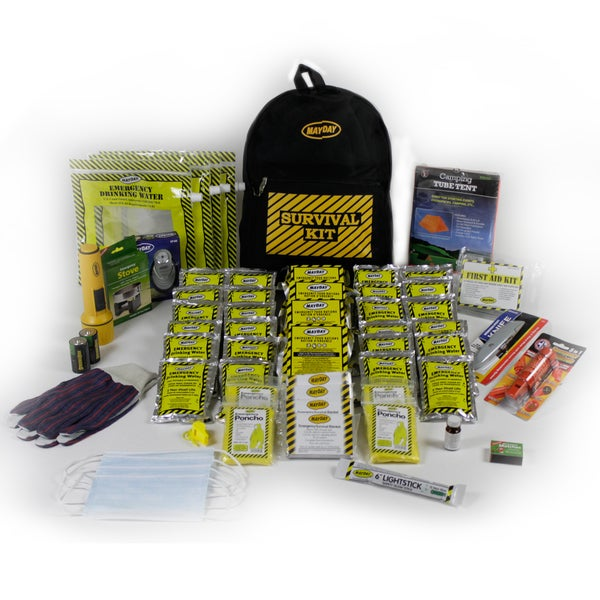 4-person Deluxe Emergency Backpack Kit