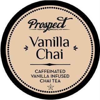 """Prospect Tea """"Vanilla Chai"""" Single Serve Tea K-Cups"""