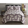 Intrigue Reversible 3-piece Quilt Set