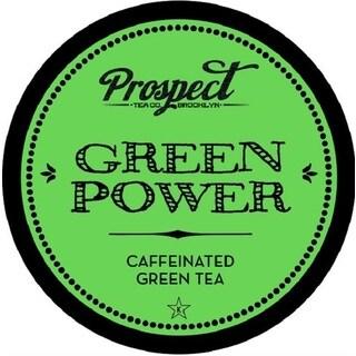 Prospect Tea Green Power Single Serve Tea K-cups