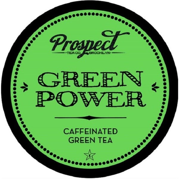 Prospect Tea Green Power Single Serve Tea K-cups