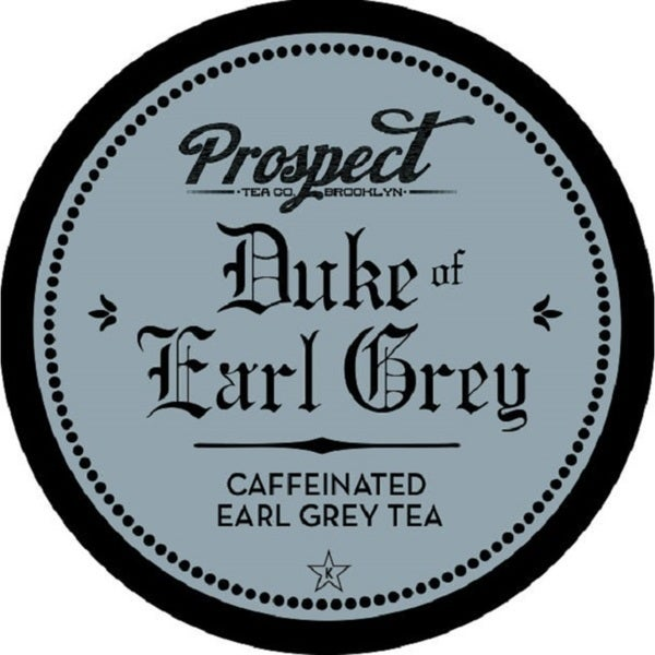 Prospect Tea Duke of Earl Grey Single Serve Tea K-cups