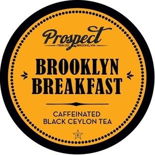 Prospect Tea Brookyln Breakfast Single Serve Tea K-cups