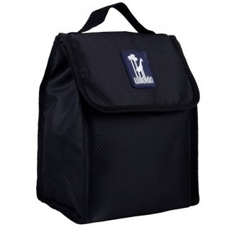 Wildkin Rip-Stop Black Munch 'n Lunch Bag