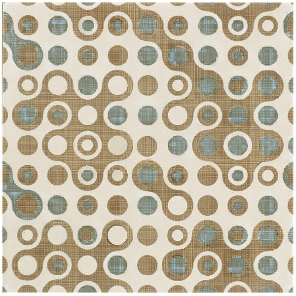 SomerTile 7 3/4 x 7 3/4-inch Puccini Cool Ceramic Floor and Wall Tile (Case of 25)