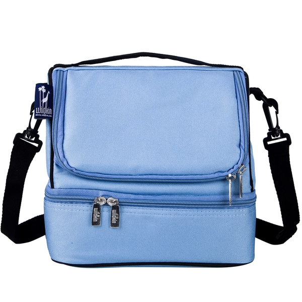 Wildkin Placid Blue Double Decker Lunch Bag