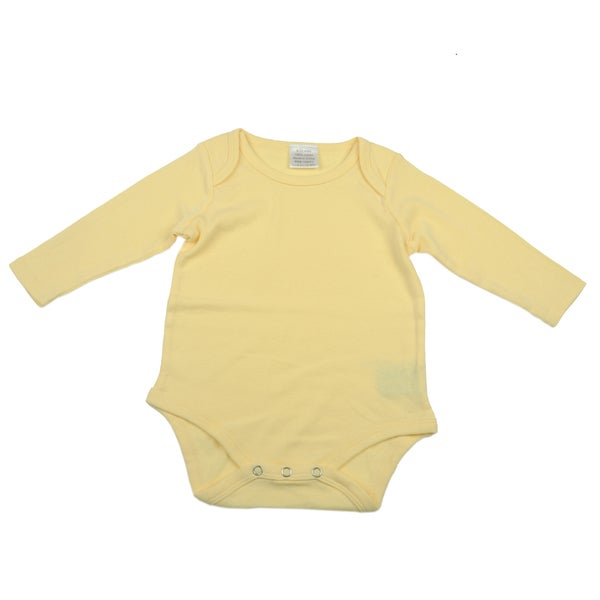 Kidz Stuff Insect Repellant Long-Sleeved Onesies Yellow