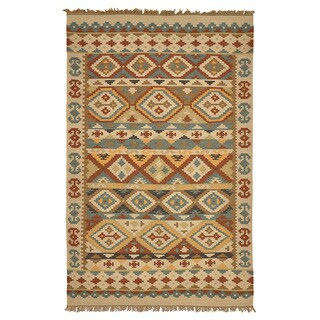 Kosas Home Lark Indoor/ Outdoor Poly Kilim (4 x 6')