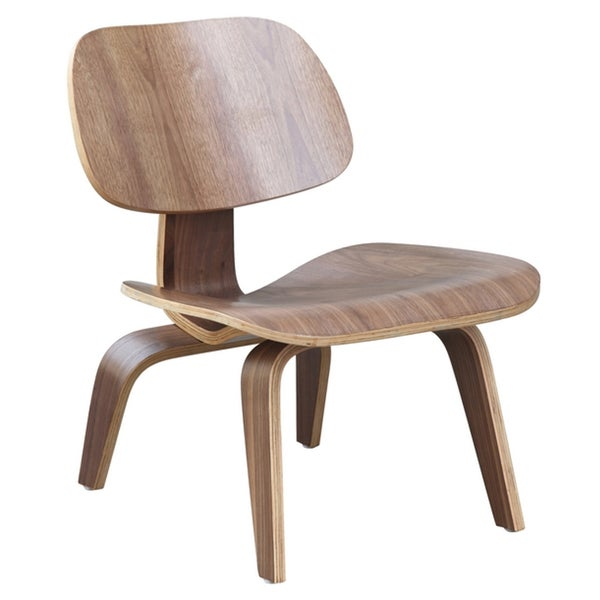 Lightweight Plywood Curved Lounge Chair