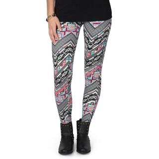 Hailey Jeans Co. Junior's Print Fleece Leggings