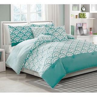 Sylvana 5-piece Reversible Comforter Set