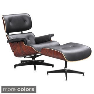 Zita Ease Lounge Chair and Ottoman Set