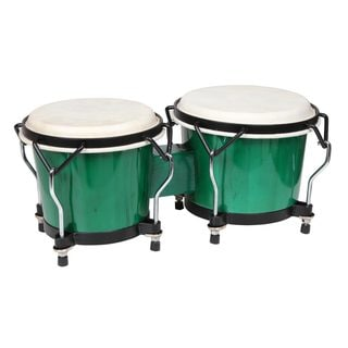 X8 Drums Endeavor Green Bongos (China)