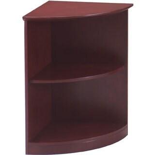 Mayline Napoli Series 2-Shelf Quarter Round Bookcase