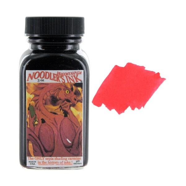 Noodler's Ink Fountain Pen Bottled Ink, 3-ounces, 20 Color Options
