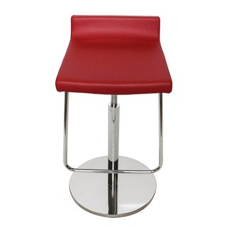 Litsa Red Bar Stool