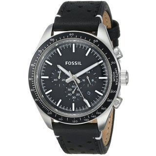 Fossil Men's CH2921 Edition Sport Black Leather Watch