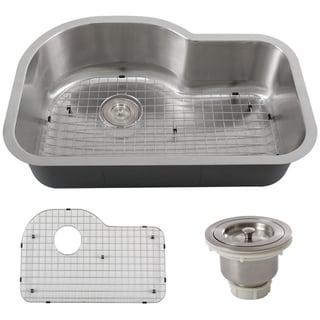 Phoenix 32-inch Stainless Steel 18-gauge Undermount Single Bowl Kitchen Sink