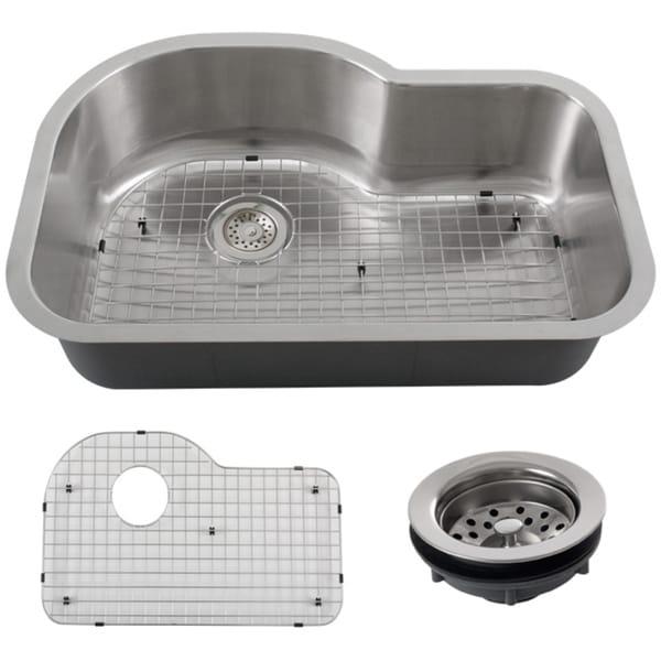 Kitchen Sink Phoenix : ... 32-inch Stainless Steel 18-gauge Undermount Single Bowl Kitchen Sink
