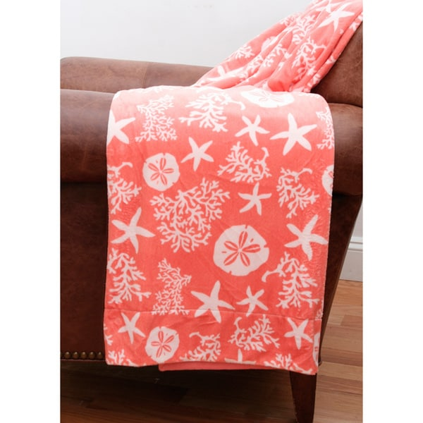 Tamarindo Coastal Microplush Throw