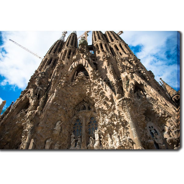 La Sagrada Familia Barcelonaapos Photography Canvas Art image