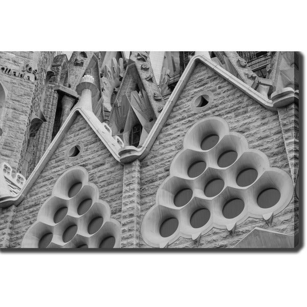 La Sagrada Familia, Barcelona' Photography Canvas Art