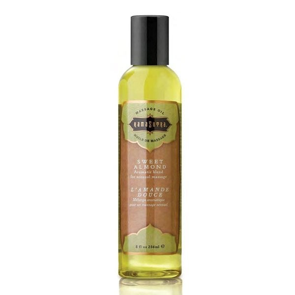Kama Sutra Sweet Almond 8-ounce Massage Oil