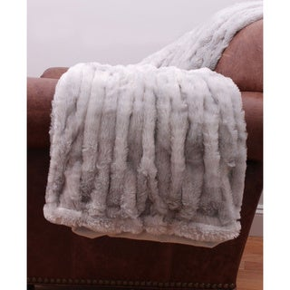Josephine Faux Fur Throw