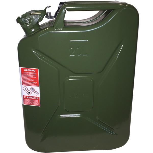Wavian NATO Green Steel Jerry Can