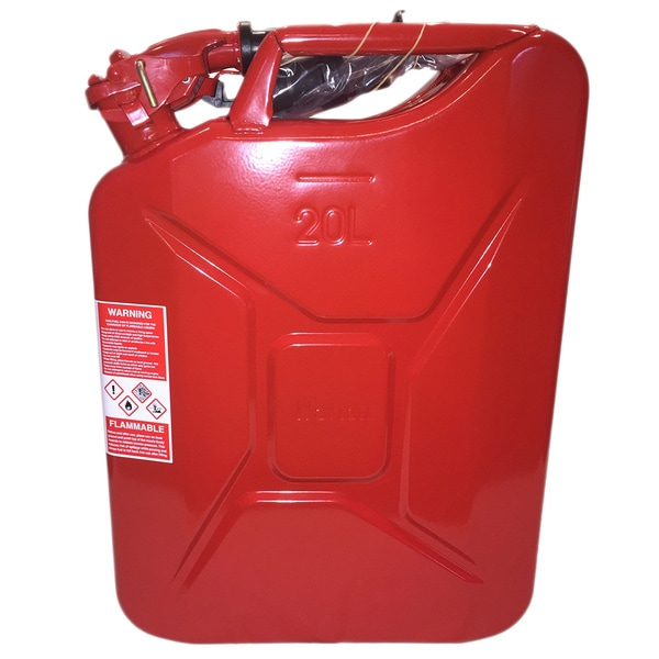 Wavian NATO Red Steel Jerry Can