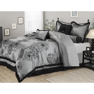 Luxor Treasures Wrinkle Resistant 7-piece Amaysia Comforter Set