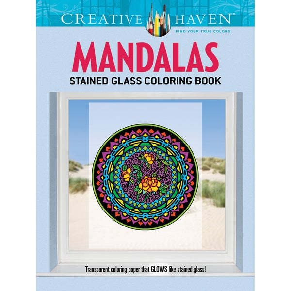 Dover Publications-Creative Haven Mandalas Coloring Book