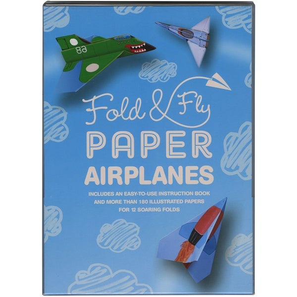 Quarry Books-Fold & Fly Paper Airplanes